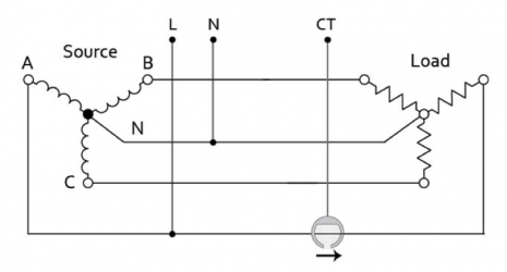 ZEM-30 CT Connection Diagram